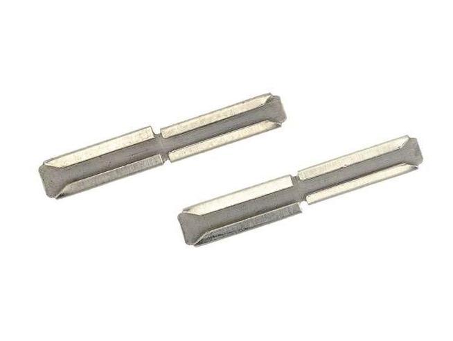 PIKO 55293 - Giunzioni di compensazione in metallo per binario H0 Modellino 6 pz