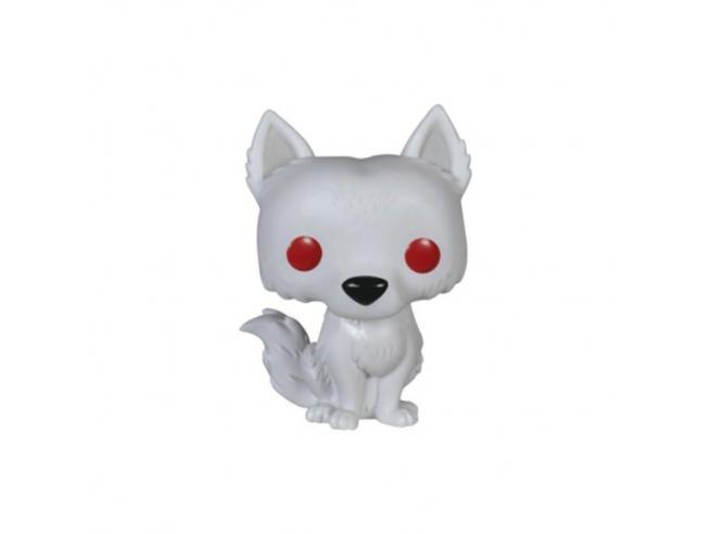 Funko Game of Thrones POP Serie TV Vinile Figura Ghost 10 cm SCATOLA ROVINATA