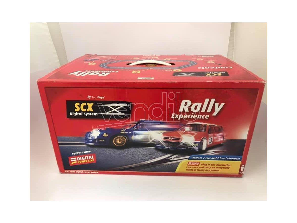 SCX 10010 Esperienza Rally auto e pista 1:32 Digital Racing System BOX ROVINATO