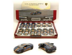 Hot Wheels KT5382D LAMBORGHINI HURACAN LP610-4 AVIO 1:36 Modellino