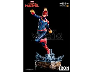 IRON STUDIO CAPTAIN MARVEL BDS 1/10 ART STATUE STATUA