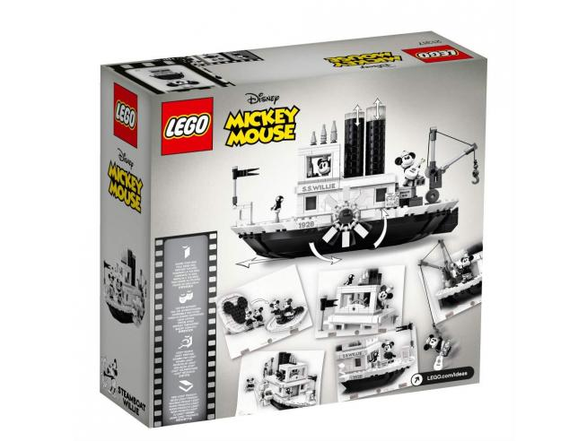 LEGO IDEAS 21317 - STEAMBOAT WILLIE