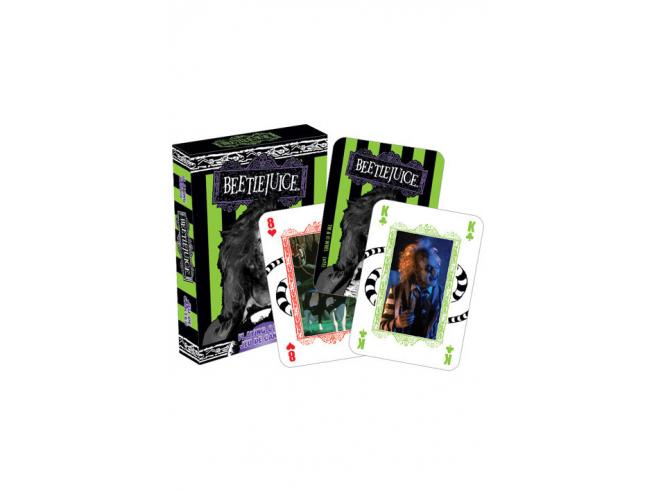 AQUARIUS ENT BEETLEJUICE PLAYING CARDS CARTE DA GIOCO