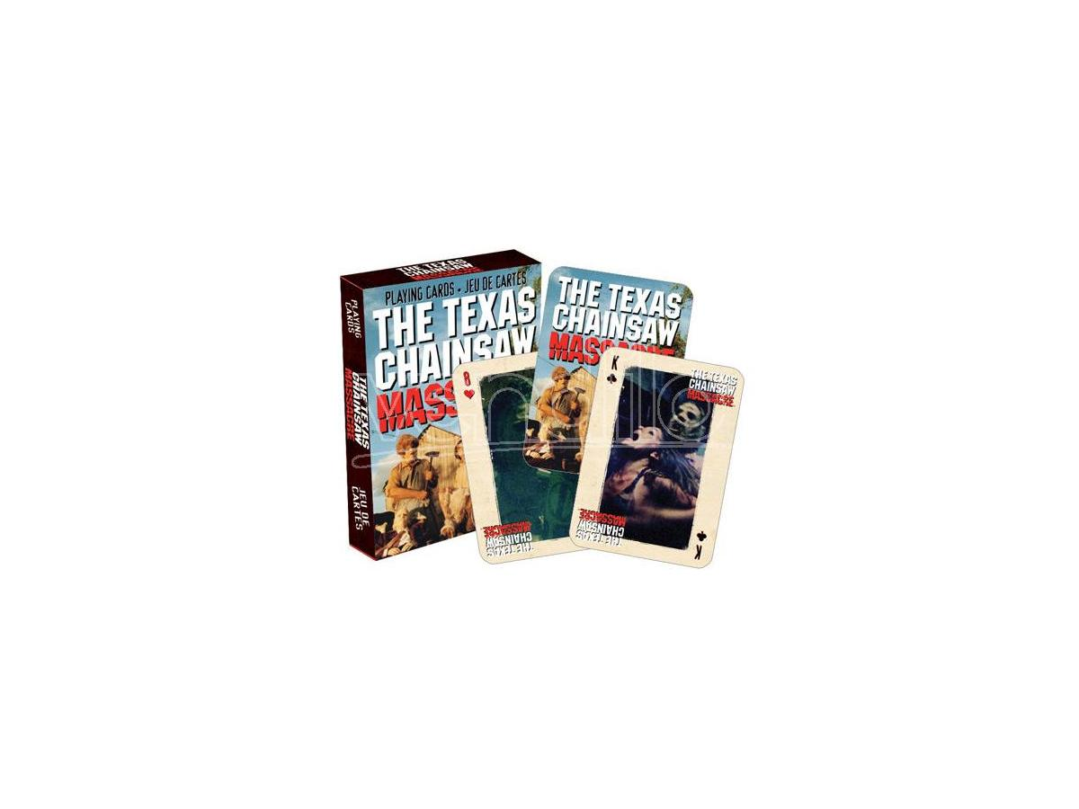 AQUARIUS ENT TEXAS CHAINSAW MASSACRE PLAYING CARDS CARTE DA GIOCO