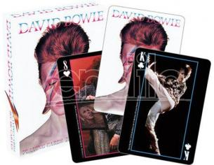 AQUARIUS ENT DAVID BOWIE PHOTOS PLAYING CARDS CARTE DA GIOCO