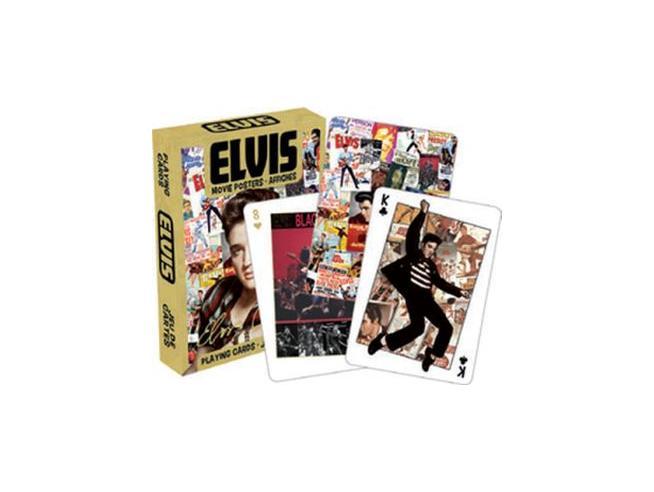 AQUARIUS ENT ELVIS MOVIE POSTERS PLAYING CARDS CARTE DA GIOCO