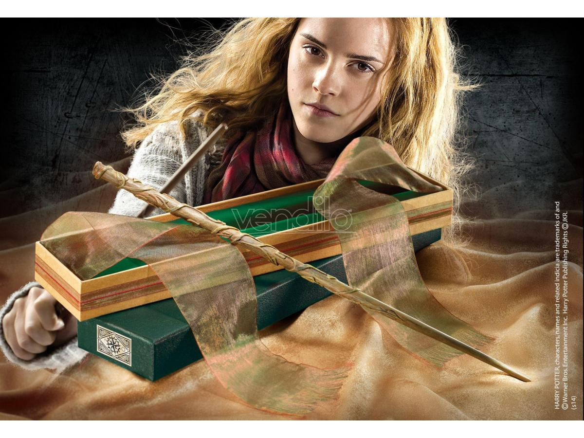 Bacchetta Magica Hermione Granger Harry Potter Olivander Noble Scatola Rovinata