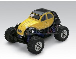 Thunder Tiger 6551-FS Citroen 2 cv 2WD Mini Monster Truck 1:18 4wd Radiocomando