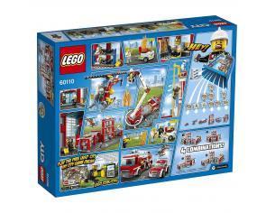 LEGO CITY 60110 - CASERMA DEI POMPIERI SCATOLA ROVINATA