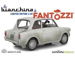 Fantozzi Replica Auto La Bianchina Statua 1:18 Edizione Limitata Infinite Statua