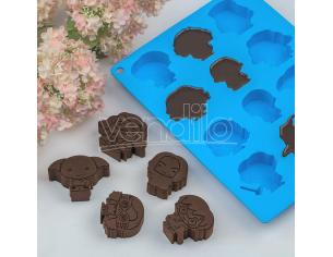 CINEREPLICAS HP KAWAII CHOCOLATE/ICE CUBE MOULD STAMPO