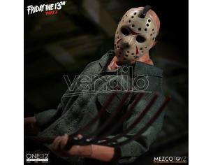 MEZCO TOYS FRIDAY THE 13TH PART 3 JASON CLOTH ACTION FIGURE