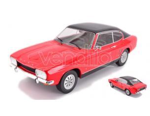 MODELCARGROUP MCG18083 FORD CAPRI MKI 1600 GT RED/BLACK 1:18 Modellino