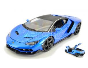 Maisto MI31386B LAMBORGHINI CENTENARIO LP 770-4 2016 METALLIC BLUE 1:18 Modellino