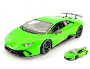 Maisto MI31391G LAMBORGHINI HURACAN PERFORMANTE LIGHT GREEN 1:18 Modellino