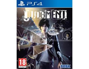 JUDGMENT AZIONE - PLAYSTATION 4