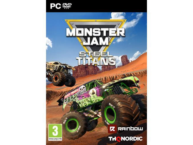 MONSTER JAM - STEEL TITANS GUIDA/RACING GIOCHI PC
