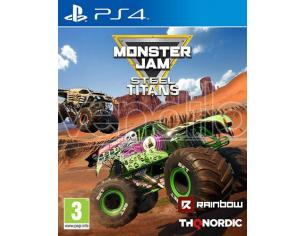 MONSTER JAM - STEEL TITANS GUIDA/RACING PLAYSTATION 4