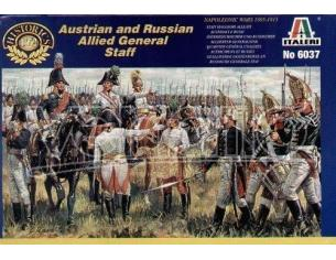 Italeri IT6037 AUSTRIAN RUSSIAN ALL.GEN.STAFF KIT 1:72 Modellino
