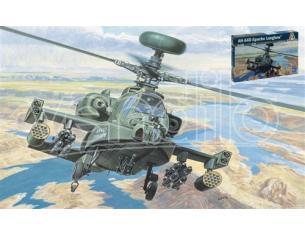 Italeri IT0080 ELICOTTERO AH-64 D APACHE KIT 1:72 Modellino