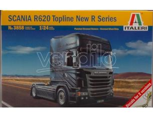 Italeri IT3858 SCANIA R 620 TOPLINE KIT 1:24 Modellino