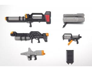 BANDAI RS EARTH FEDER FORCE WEAPONS ANIME SET ACCESSORI