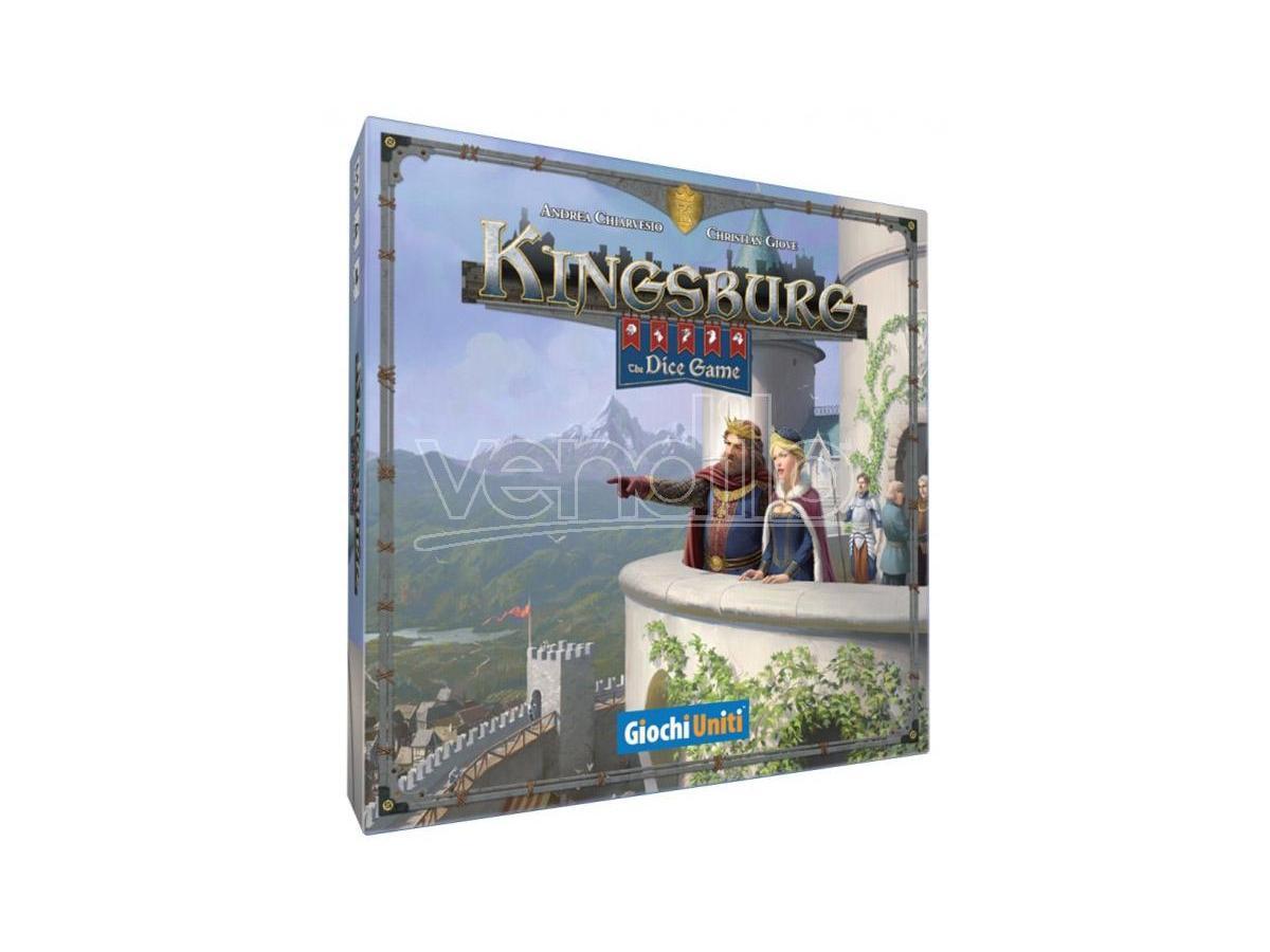 KINGSBURG - THE DICE GAME GIOCHI DA TAVOLO TAVOLO/SOCIETA'