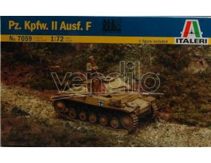 Italeri IT7059 PZ KPWF II AUSF F KIT 1:72 Modellino