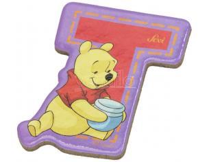 Trudi Sevi 82778 - Winnie The Pooh Letteraa T Adesiva 7 Cm
