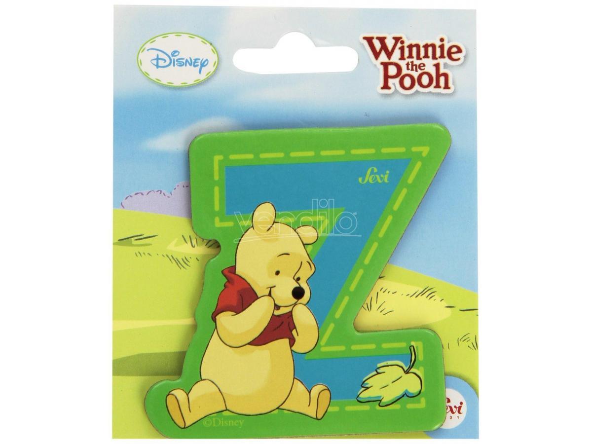 Trudi Sevi 82784 - Winnie The Pooh Letteraa Z Adesiva 7 Cm