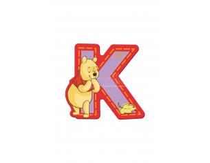 Trudi Sevi 82769 - Winnie the Pooh Lettera K adesiva 7 cm