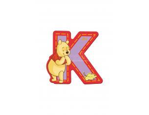 Trudi Sevi 82769 - Winnie The Pooh Letteraa K Adesiva 7 Cm