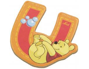 Trudi Sevi 82779 - Winnie the Pooh Lettera U adesiva 7 cm