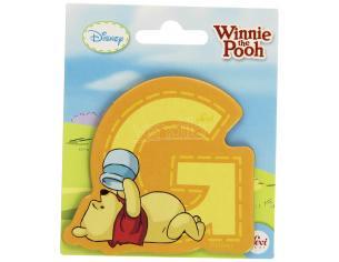 Trudi Sevi 82765 - Winnie the Pooh Lettera G adesiva 7 cm