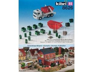 Kibri 8626 Set industria Fabbrica con veicolo Camion Kit HO modellismo