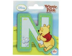 Trudi Sevi 82772 - Winnie the Pooh Lettera N adesiva 7 cm