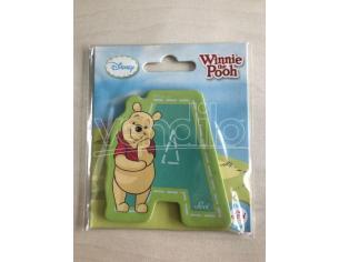 Trudi Sevi 82759 - Winnie the Pooh Lettera A blu adesiva 7 cm