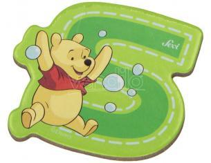 Trudi Sevi 82777 - Winnie the Pooh Lettera S adesiva 7 cm