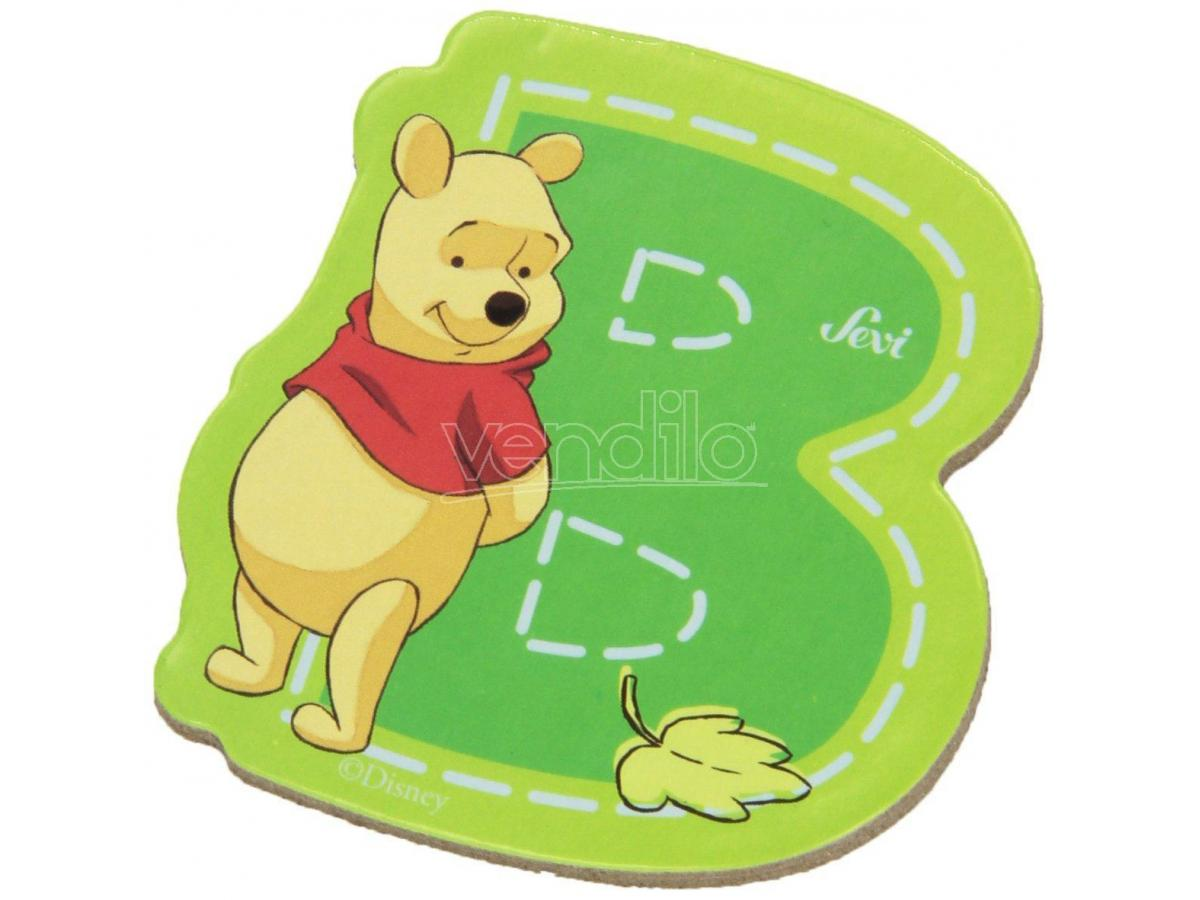 Trudi Sevi 82760 - Winnie the Pooh Lettera B adesiva 7 cm
