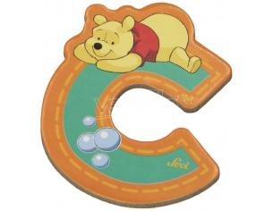 Trudi Sevi 82761 - Winnie the Pooh Lettera C adesiva 7 cm