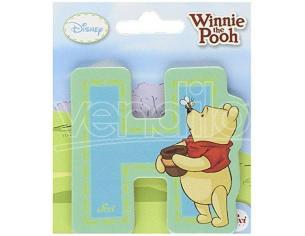 Trudi Sevi 82766 - Winnie the Pooh Lettera H adesiva 7 cm