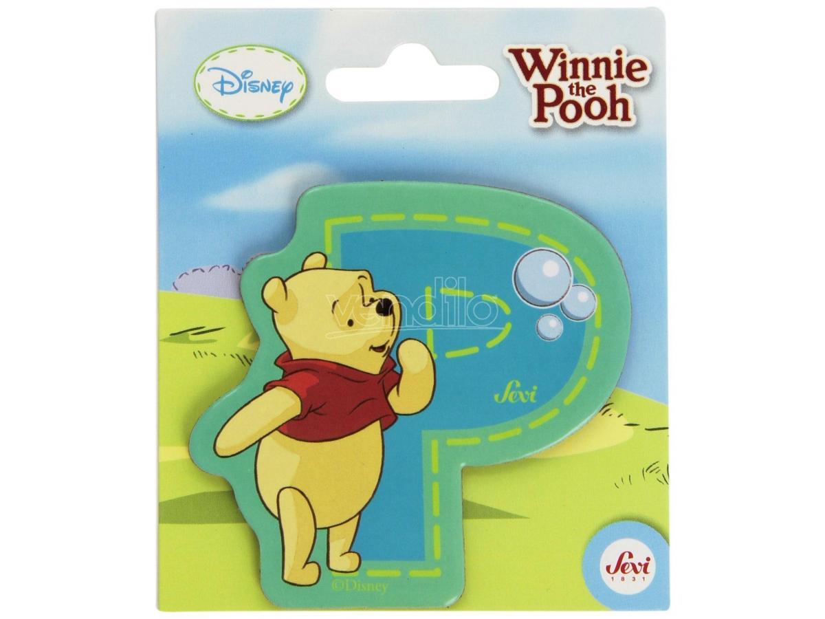 Trudi Sevi 82774 - Winnie The Pooh Letteraa P Adesiva 7 Cm