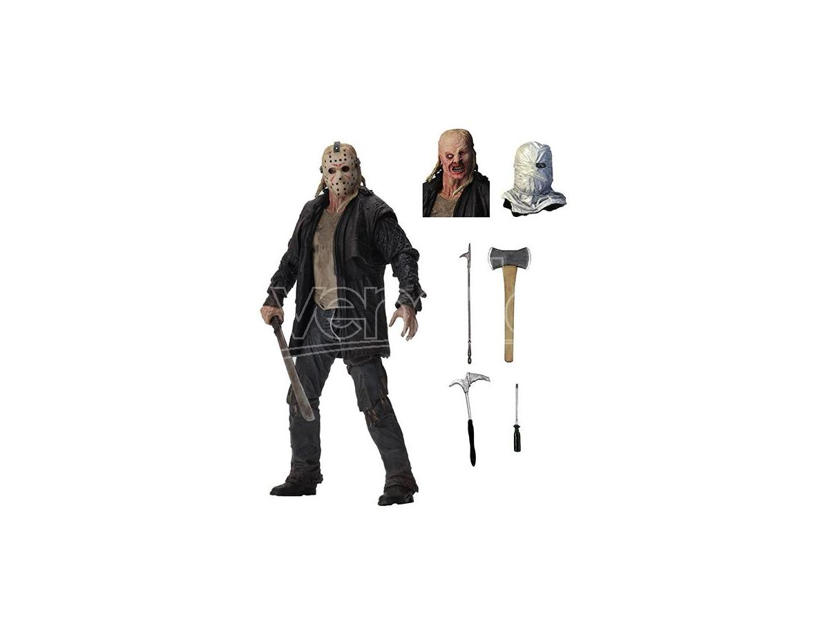 NECA FRIDAY THE 13TH ULTIMATE JASON (2009) ACTION FIGURE