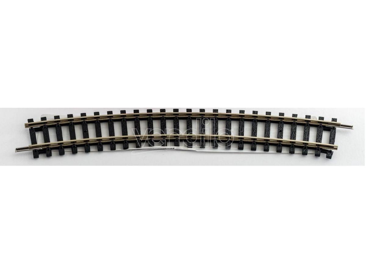 Hornby R606 Binario Curva 2nd raggio 438 mm arco 22,5?+ Accessori Modellismo