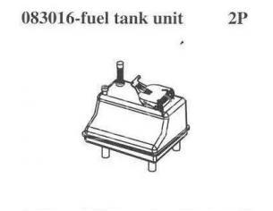 Smartech 083016 Serbatoio carburante 1:8 per Smartech Magic Wheel Truck Ricambi Accessori