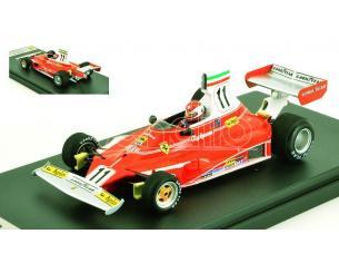 Looksmart LSRC060 FERRARI 312T N.11 WINNER ITALIAN GP 1975 CLAY REGAZZONI 1:43 Modellino
