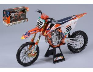New Ray NY49673 RED BULL KTM 450 SX-F N.222 TONY CAIROLI 1:6 Modellino