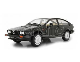 Ixo model LM110C ALFA ROMEO GTV 6 2.5 SERIE 1 1980 BLACK 1:18 Modellino