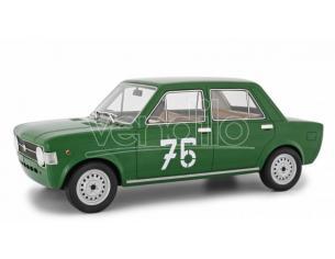 LAUDO RACING LM112D1 FIAT 128 1a SERIE N.76 CORSA DELLA MENDOLA 1969 ERALDO OLIVARI 1:18 Modellino