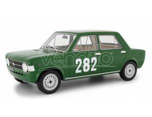 LAUDO RACING LM112D2 FIAT 128 1a SERIE N.282 TRENTO BONDONE 1969 ERALDO OLIVARI 1:18 Modellino